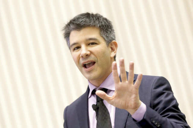 Uber CEO Travis Kalanick. (Reuters photo)