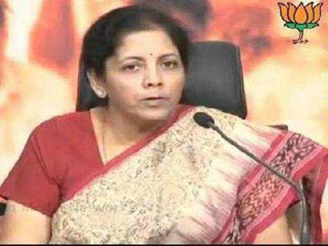 Nirmala Sitharaman, Commerce & Industry minister.