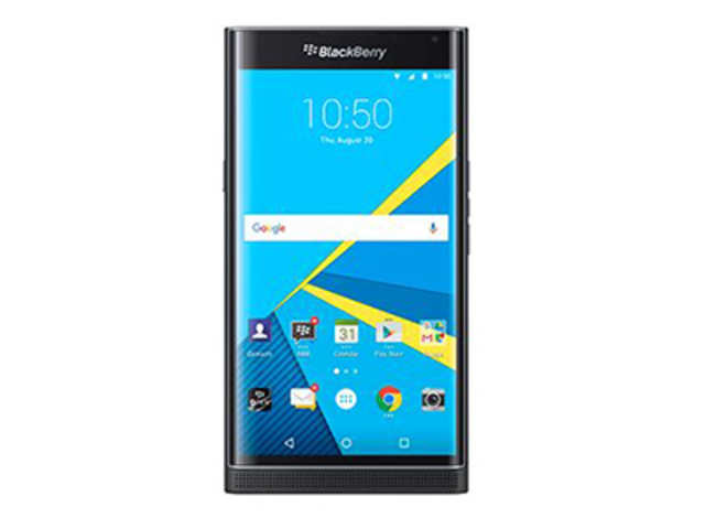 BlackBerry Priv has a 5.4-inch QHD display protected with a coating of Corning Gorillas Glass 4.