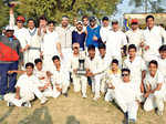 A Friendly cricket match