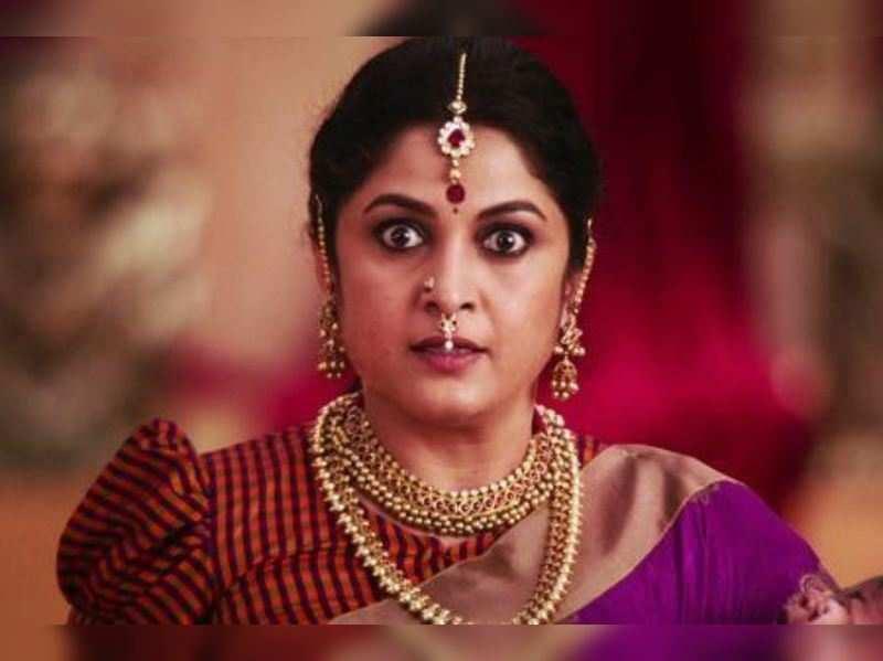Ramya Krishnan: Krishna Vamsi is getting wife Ramya Krishna to play a  ghost! | Telugu Movie News - Times of India  Happy Birthday ever-so-gorgeous actress Ramya Krishnan 50845802