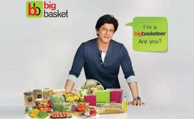 Bollywood star Shah Rukh Khan is the brand ambassador for the grocery portal.<br />