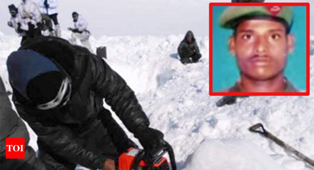 Soldier Trapped In Siachen Avalanche Found Alive India News