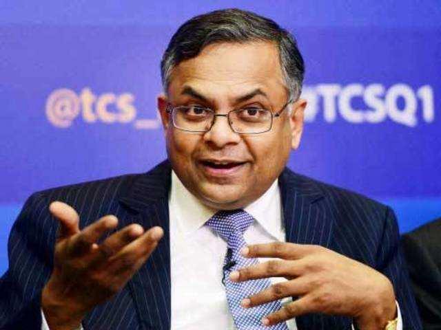 N Chandrasekaran, CEO & MD, TCS