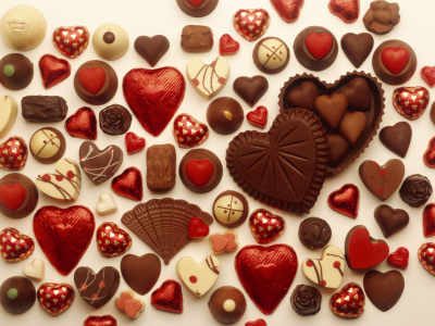 How you can celebrate Valentine's day with chocolates