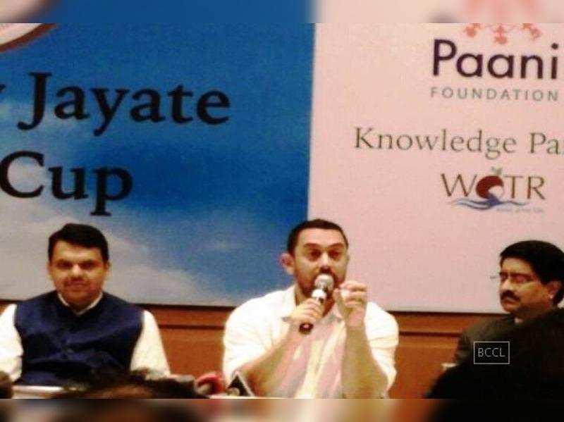 Aamir Khan and Kiran Rao's Paani Foundation announces 'Satyamev Jayate Water Cup'