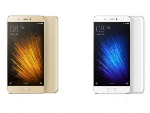 Xiaomi Mi 5, priced between 1,999 and 2,699 yuan, has 5-inch screen, 3GB & 4GB RAM options, Snapdragon 820 processor, 32/64/128GB storage variants, 16MP rear and 5MP front camera, and 3,000mAh battery with fast-charging.