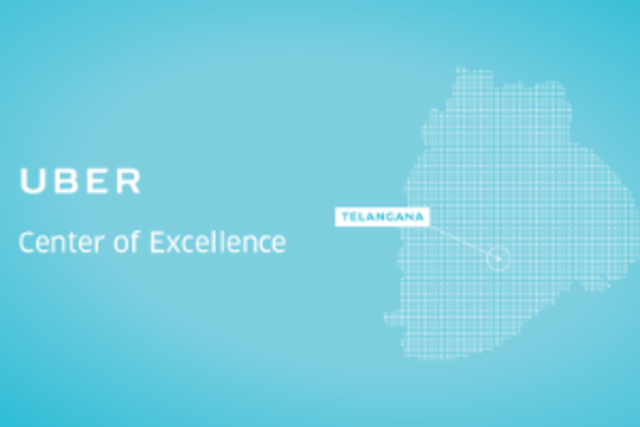 Uber's Centre of Excellence, which was inaugurated by Telangana IT minister KT Rama Rao, is expected to generate 500 jobs by the end of 2017.