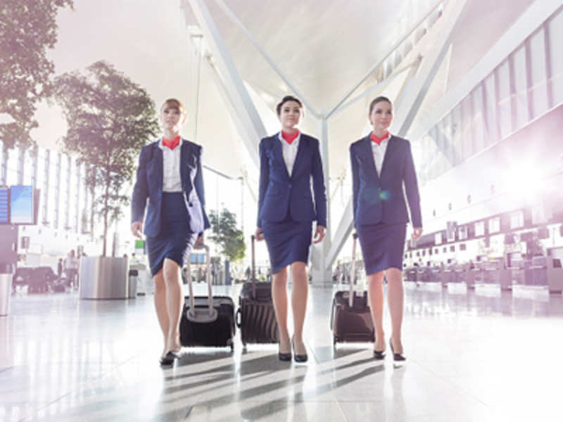 The silent struggle of air hostesses