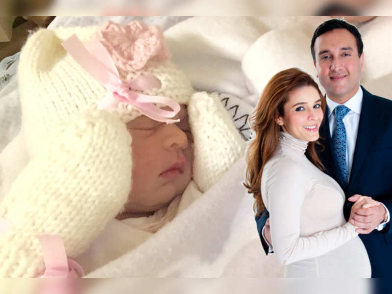 Raageshwari blessed with a baby girl