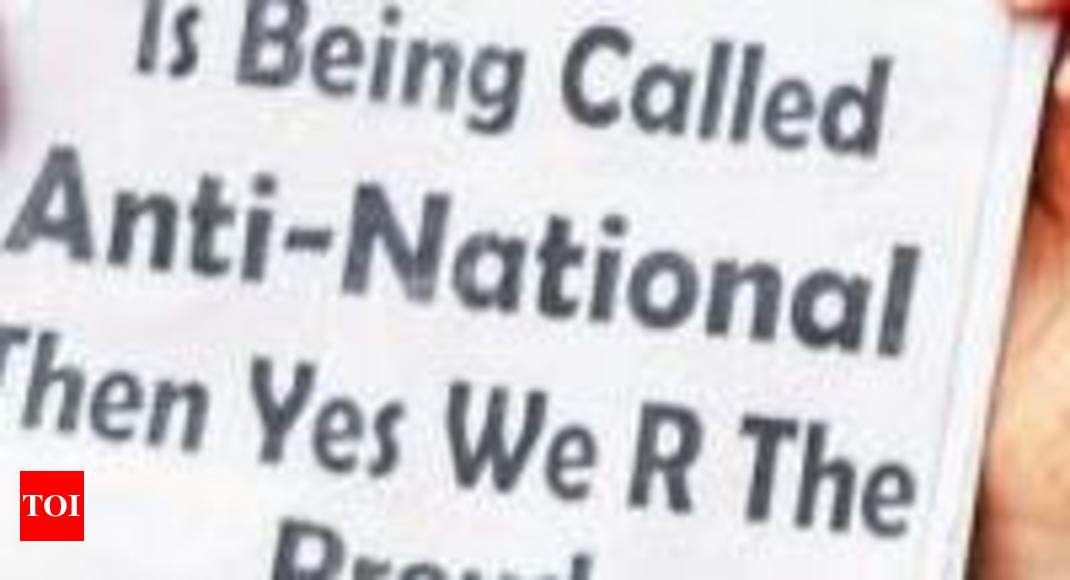 Anti-national nominations' go viral on Facebook - Times of India