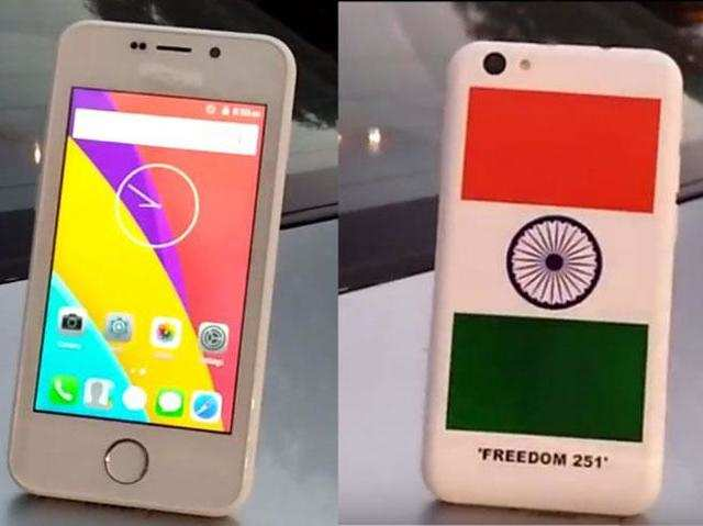 "Freedom 251 smartphone, priced at Rs 251, is the eye of another storm as Congress MP Pramod Tiwari called it the scam of the millennium and said the government is ""going to do a big scam."""
