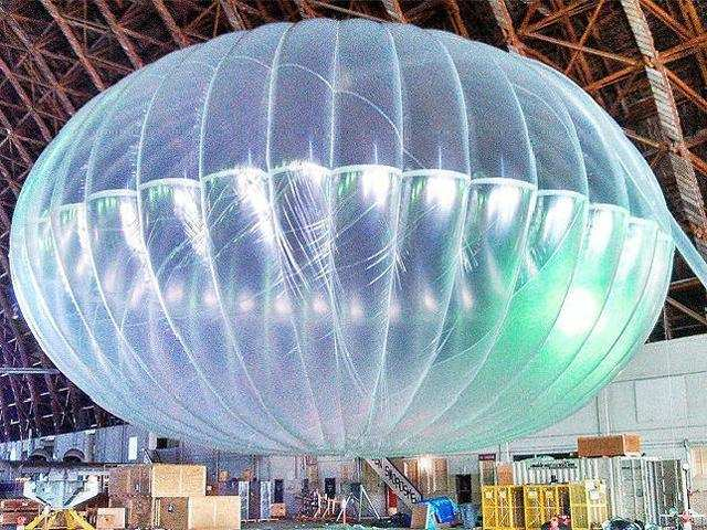 Government wants Google to pick partner for 'internet balloon' project