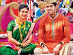 Mrunal and Neeraj's wedding ceremony