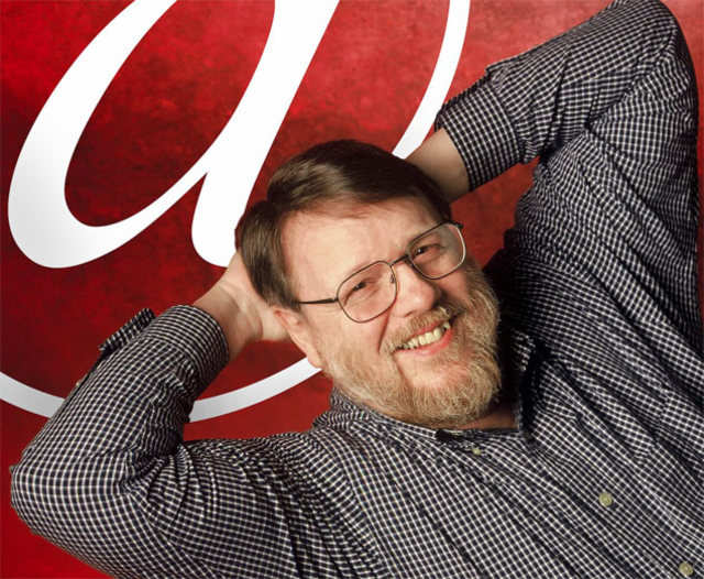 Raymond Tomlinson, inventor of modern email .(File photo)