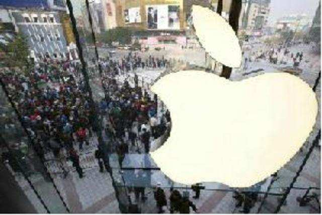 Apple has almost halved its order with suppliers of LCD panels for the iPhone 5 in the current quarter due to weak demand, the Nikkei reported on Monday.