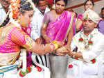 Manju Swaraj weds Sahana