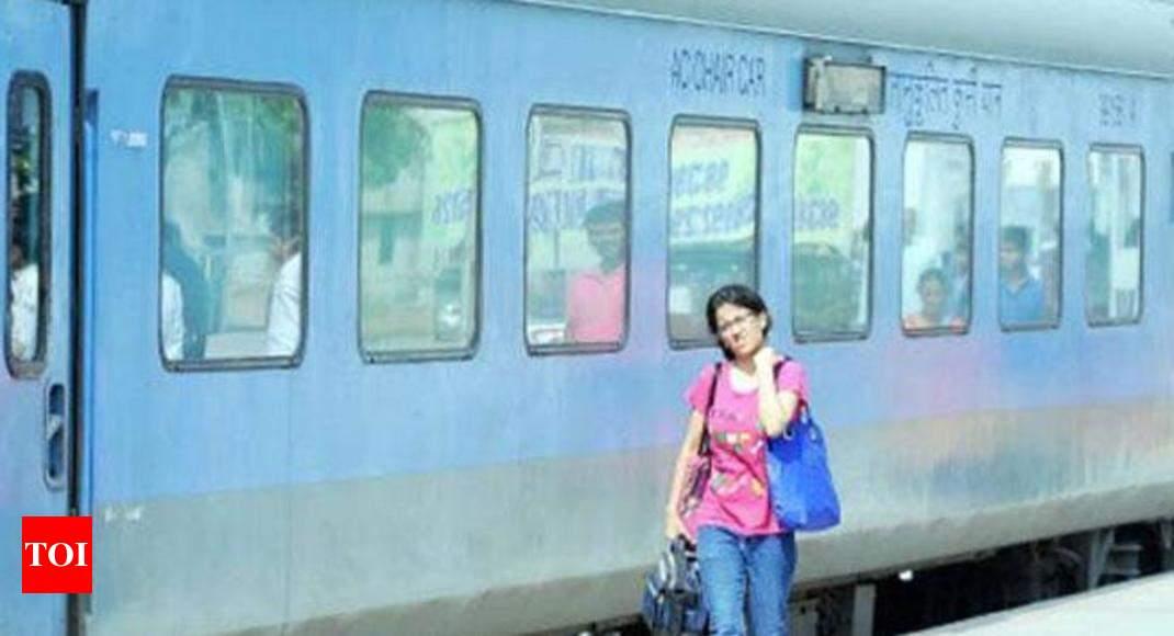 Railway coach nude