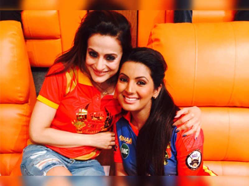 Ameesha Patel and Geeta Basra are cool frenemies