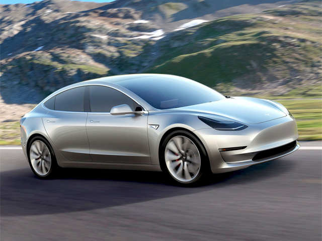 India excited about Tesla's cheapest car 'Model 3'