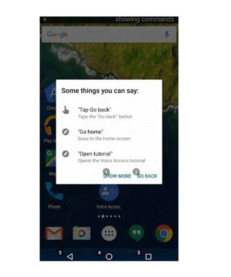 Google Voice Access app to let you control your Android