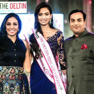 This Miss India finalist is an aqua queen