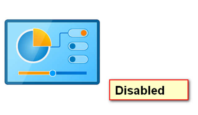 Disabling access to Control Panel ensures that only authorized users are allowed to make critical changes to the computer, and hence the data stored on it.