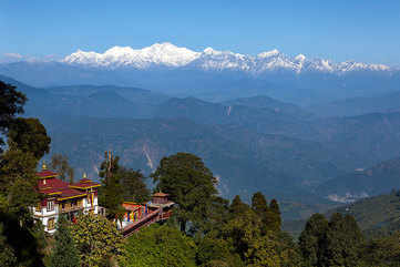 The queen of hills: Darjeeling