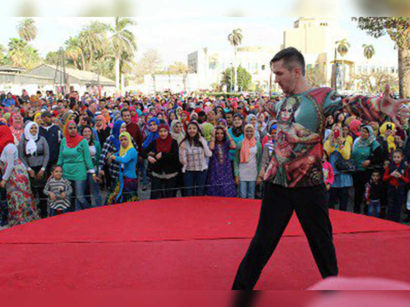 Bollywood dance hit in Cairo