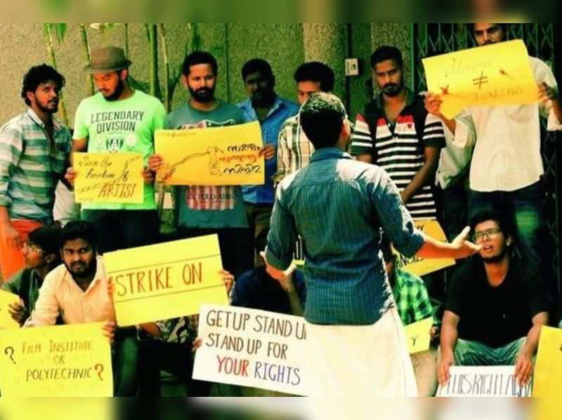 Film TV Institute row: Min to meet protesting students