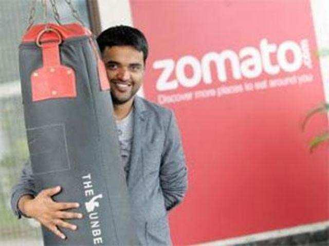 Zomato founder talks about 50% slash in value