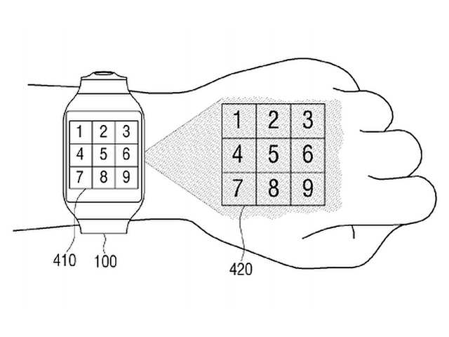 Samsung working on smartwatch with projector: Report