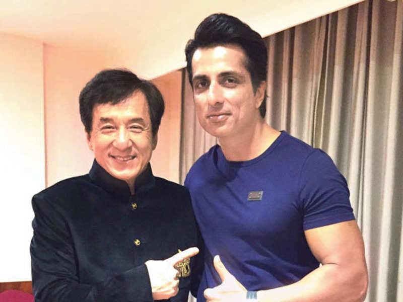 Jackie Chan and Sonu Sood