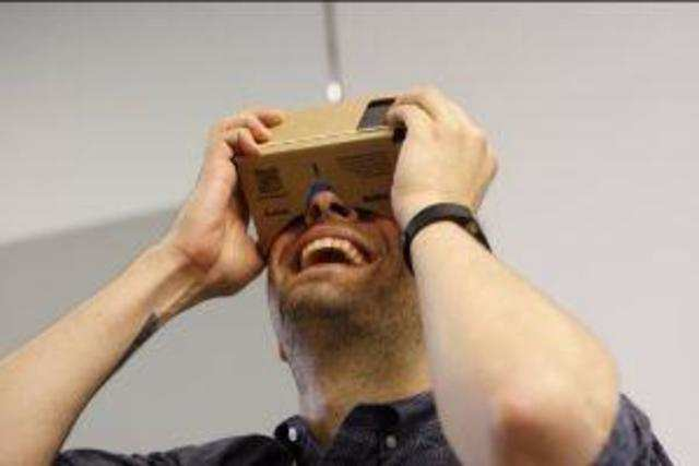 Users can get the virtual experience of the event on any VR headset -- Google Cardboard, Samsung Gear VR, or any other VR headset.