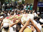 Nirankari chief's funeral ceremony