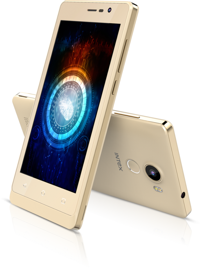 Intex Aqua Secure smartphone with fingerprint sensor launched at Rs 6,999