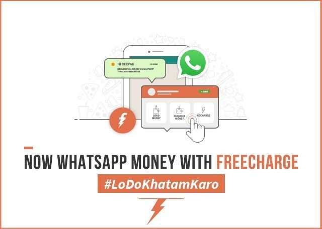 The new 'Chat n Pay' feature will be available to FreeCharge users through WhatsApp's accessibility settings.