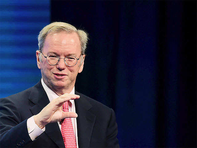 Alphabet is unlikely to break up: Eric Schmidt