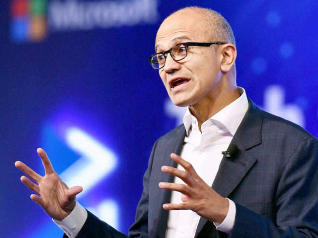 Nadella also talked about Microsoft's ambitions in bots and holographic computing and solutions that developers can create to improve lives in India.