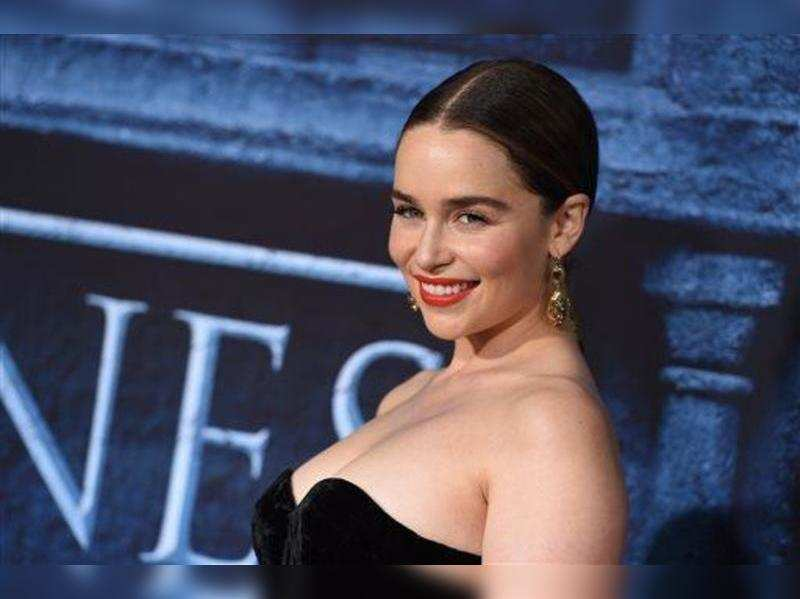 Emilia Clarke Made Rugby Team Cry Times Of India
