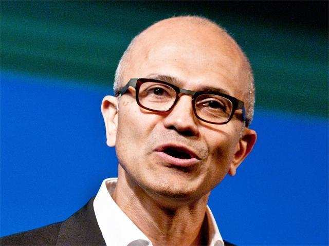 Microsoft CEO pitches Skype for Aadhaar