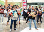 Flash mob @ City mall