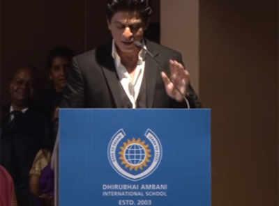 SRK's inspiring speech has life lessons for all of us!