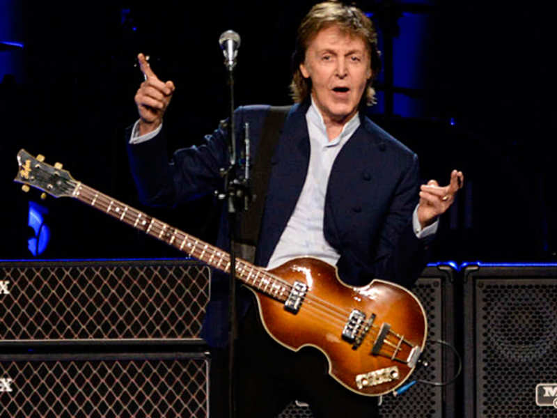 Paul McCartney pretends to be someone else when recognized