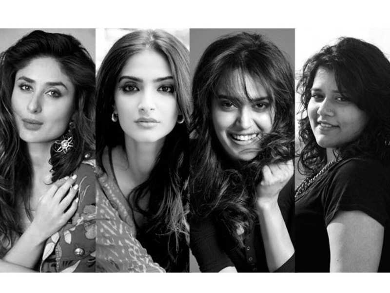 Kareena Kapoor Khan, Sonam Kapoor, Swara Bhaskar and Shikha Talsania