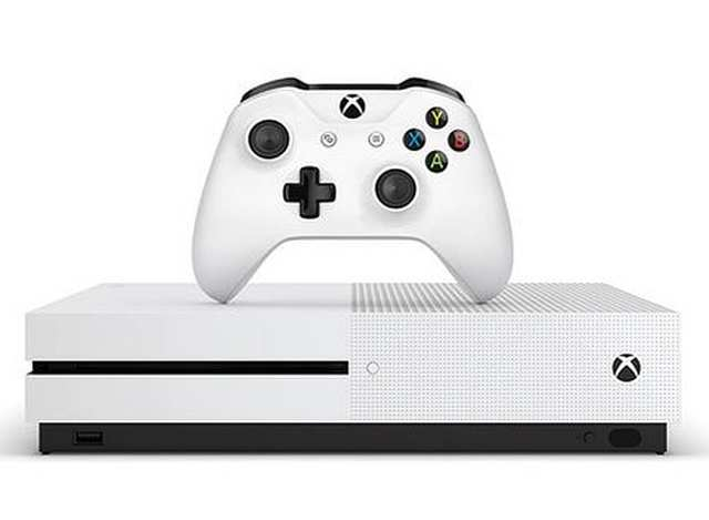 New Xbox One S gaming console leaked in images