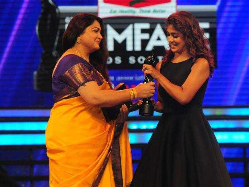 Vikram, Nayan take home Best Actor awards