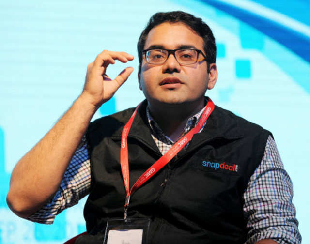 Snapdeal founder and CEO Kunal Bahl