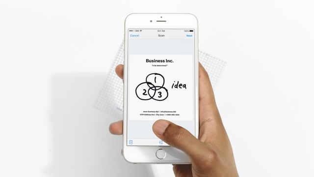 Dropbox updates iOS app with document scanner