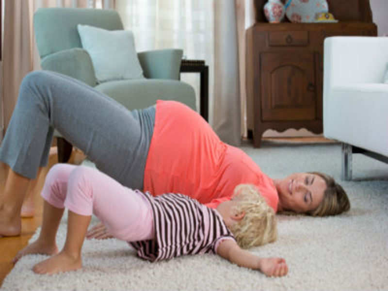 9 of 10 pregnant women lack exercise, run risk